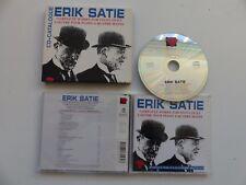 ERIK SATIE Complete works for piano duet MERLET ARMENGAUD   MAN 4882 CD Album
