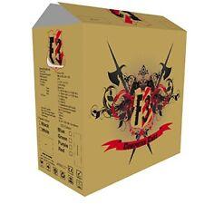 Cscitf3blackblue Spire F3 Micro ATX Gaming Case With Windows No PSU Blue LED Fan