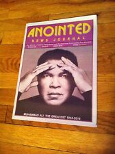 Anointed News Journal MUHAMMAD ALI Tribute 2016 Faith Based Professional Paper