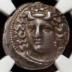 Thessaly, Larissa 4th Century BC AR Drachm (6.08) XF 5/5 5/5 Fine Style NGC