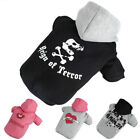 Dog Coat Hoodie Winter Warm Soft Apparel Small And Large Dog Coat Hoodie Clothes