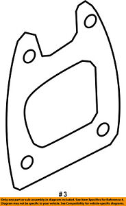 CHRYSLER OEM Exhaust Manifold-Flange Gasket 68093232AA