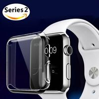 For Apple Watch Full Cover Screen Protector Film Hard Case 38/42mm series 3/2/1