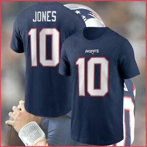 Mac Jones  New England Patriots NFL Football T shirt Team Champs 2021 Sport