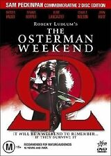 The Osterman Weekend (DVD, 2-Disc), Commomorative Edition, NEW AND SEALED