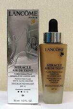 Lancome Miracle Air De Teint  Perfecting Fluid -30ml - Beige Albatre - 01 BNIB