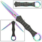 The Remnant Zombie Killer Double Titanium Blade Liner Lock Tactical Manual Knife