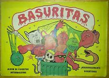 RARE COMPLETE URUGUAY  BASURITAS n°1 ALBUM! GARBAGE PAIL KIDS GPK