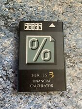 Psion Series 3 Financial Calculator SSD flash