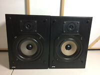 JPW Small Portable Bookshelf Speakers - Retro HiFi