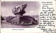 London, Brighton & South Coast Railway Official. Toad Rock. Tunbridge Wells.