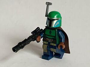 Lego Star Wars - 75267 - MANDALORIAN MINIFIGURE - green - genuine + classic bl