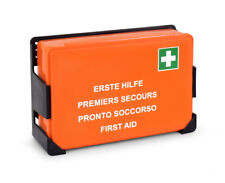 Betriebs Verbandkasten Erste-Hilfe-Koffer DIN 13157 orange mit Halterung
