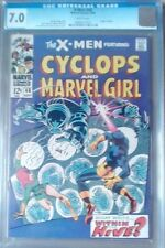 X-Men 48 CGC 7.0 F/VF Cyclops Marvel Girl
