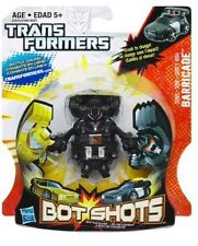 Barricade ~ Transformers Series 1 B004 Hasbro Bot Shots Battle Game Police Car
