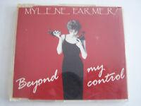 CD MYLENE FARMER , BEYOND MY CONTROL REMIX MAXI 4 TITRES 1992 , BON ETAT .