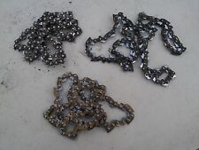 "7OO61  3 PACK 16"" CHAINS FROM CRAFTSMAN CHAIN SAW, UNSHARPENED, STILL HAVE LIFE"