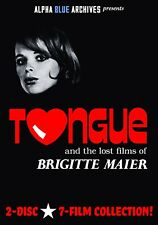 TONGUE AND THE LOST FILMS OF BRIGITTE MAIER--SEVEN FILM COLLECTION!