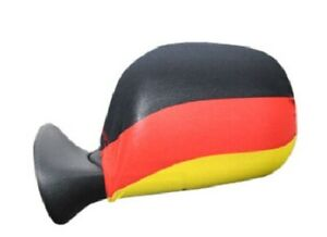 German Flag Car Side Mirror Cover Germany Set Of 2 Covers World Cup Soccer