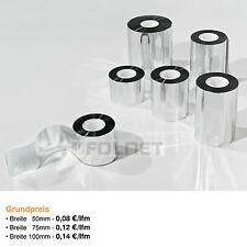 Aluminiumbedampftes Klebeband für Alu Dampfsperren 50m verschiedene Breiten
