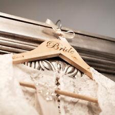 Personalised Wooden Wedding Hanger, Gifts, Bride's Dress, Groom, Bridesmaid