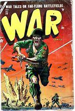 War Comics #26 1954- Atlas/Marvel comics- Golden Age Pre- Code-Russ Heath-NR!