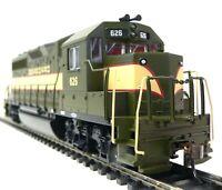HO Scale Model Railroad Trains Seaboard GP-40 DCC Equipped Locomotive 60308