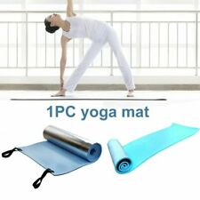 Yoga Mat Exercise Pad 6mm Thick Non-Slip Pilates Carpet Fitness Gym Camping Mat