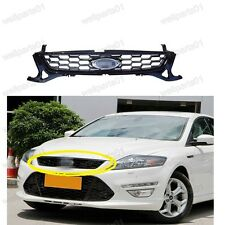 1Pcs Mesh Front Bumper Honeycomb Upper Grille Grill For Ford Mondeo 2011 2012