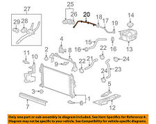 Genuine Oem Car Truck Cooling System Hoses Cls For Buick. GM Oem Radiatorbypass Pipe 12637183. Buick. 1995 Buick Riviera Cooling System Diagram At Scoala.co