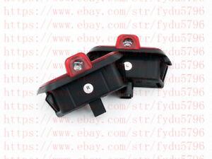 4x No Drill CREE LED Door Projector Logo Light HD For Mercedes Benz W204 2008-14