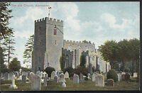 Bedfordshire Postcard - The Old Church, Kempston   A9490
