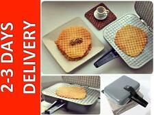 Sweet Waffle Square Iron Electric Mold Maker Pan Russian USSR USA Seller