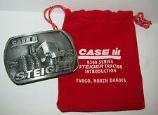 *Case IH 9300 Series Steiger 9380 4WD Tractor Intro Pewter Belt Buckle 1995 CIH