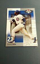 SAMMY SOSA 2003 FLEER BOX SCORE CARD # 12 A4134