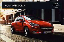 Opel Corsa 01 / 2015 catalogue brochure polnisch polonais