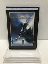 The Polar Express Tom Hanks Dvd Full Screen Christmas Holiday Family Movie