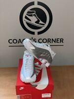 Nike Shox R4 White/Silver sz 8 - 11.5