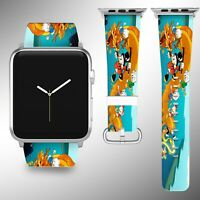 Scrooge McDuck Apple Watch Band Series SE 6 5 4 3 Leather Strap 40 44 38 40 FB