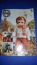 Sirdar Guys & Dolls Doll Clothing Knitting Pattern Book 117