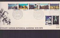 1879-1979 Centenary Darwin Botanical Gardens Australia FDC N-31 NT territory