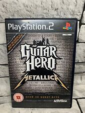 Guitar Hero: Metallica (Solus/Game Only) for Sony PS2 Playstation 2 - Free P&P