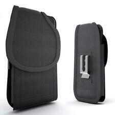 Rugged Nylon Vertical Case Pouch Holster for LG Stylo 3 / Stylo 3 Plus /Stylus 3