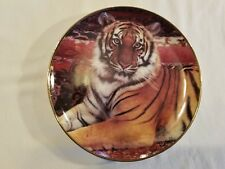 The Imperial Tiger Limited Edition Plate by Ron Kimball