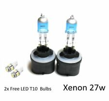 2x H27W/1 [880] 27 W Super Blanc XENON LOOK/effet Upgrade HID T10 DEL sidelights
