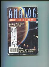 Kevin J Anderson Identity Crisis Novella Signed Autograph Analog Sci Fi Magazine