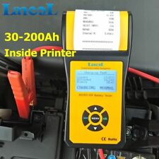 Digital Automotive 12V Car Battery Tester Analyzer with Thermal Printer 2000CCA