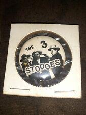 Vintage THE 3 STOOGES PINBACK BUTTON