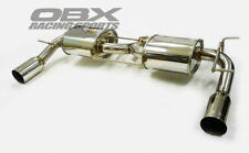 OBX Rear Axle Back Exhaust Fits For 2009-2011 Mazda MX-5 Miata 2.0L