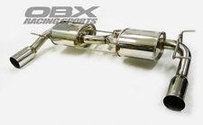 OBX Rear Axle Back Exhaust Fits For 2009-2011 Mazda MX-5 Miata 2.0L